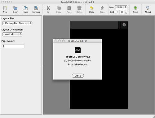 TouchOSC Editor v1.3