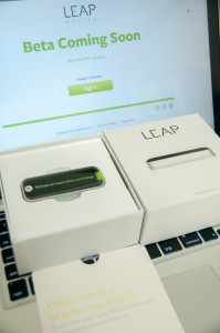 LEAP Motion届きました!