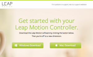 LEAPMotionsetup